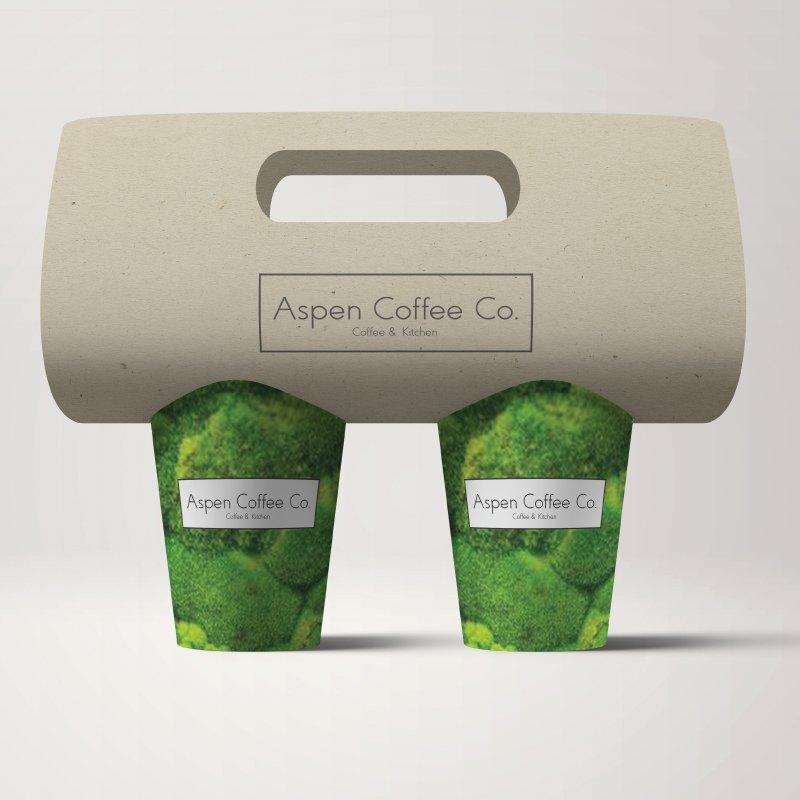 Aspen Coffee Company packaging design