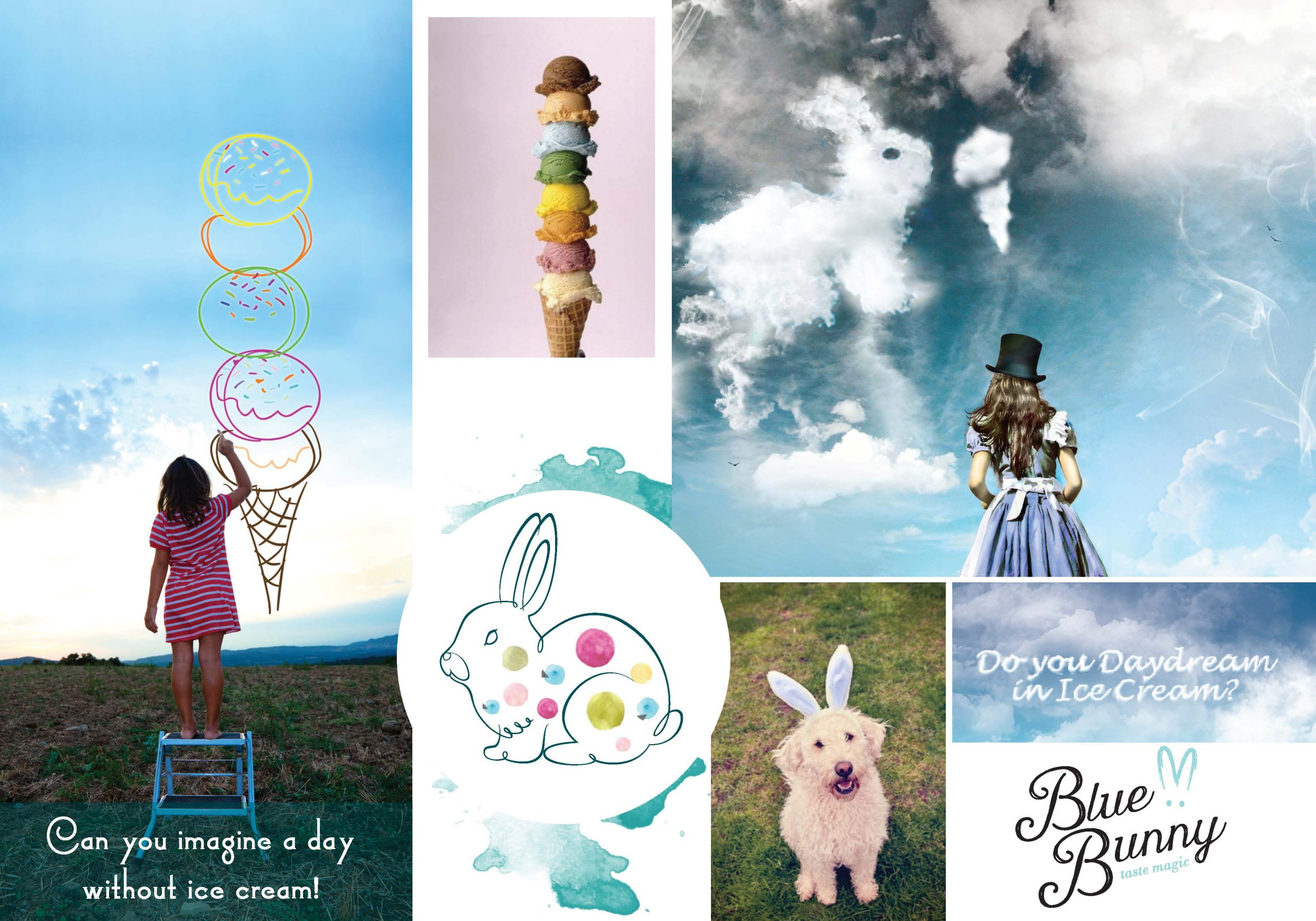 Blue Bunny brand strategy and rebrand ideas