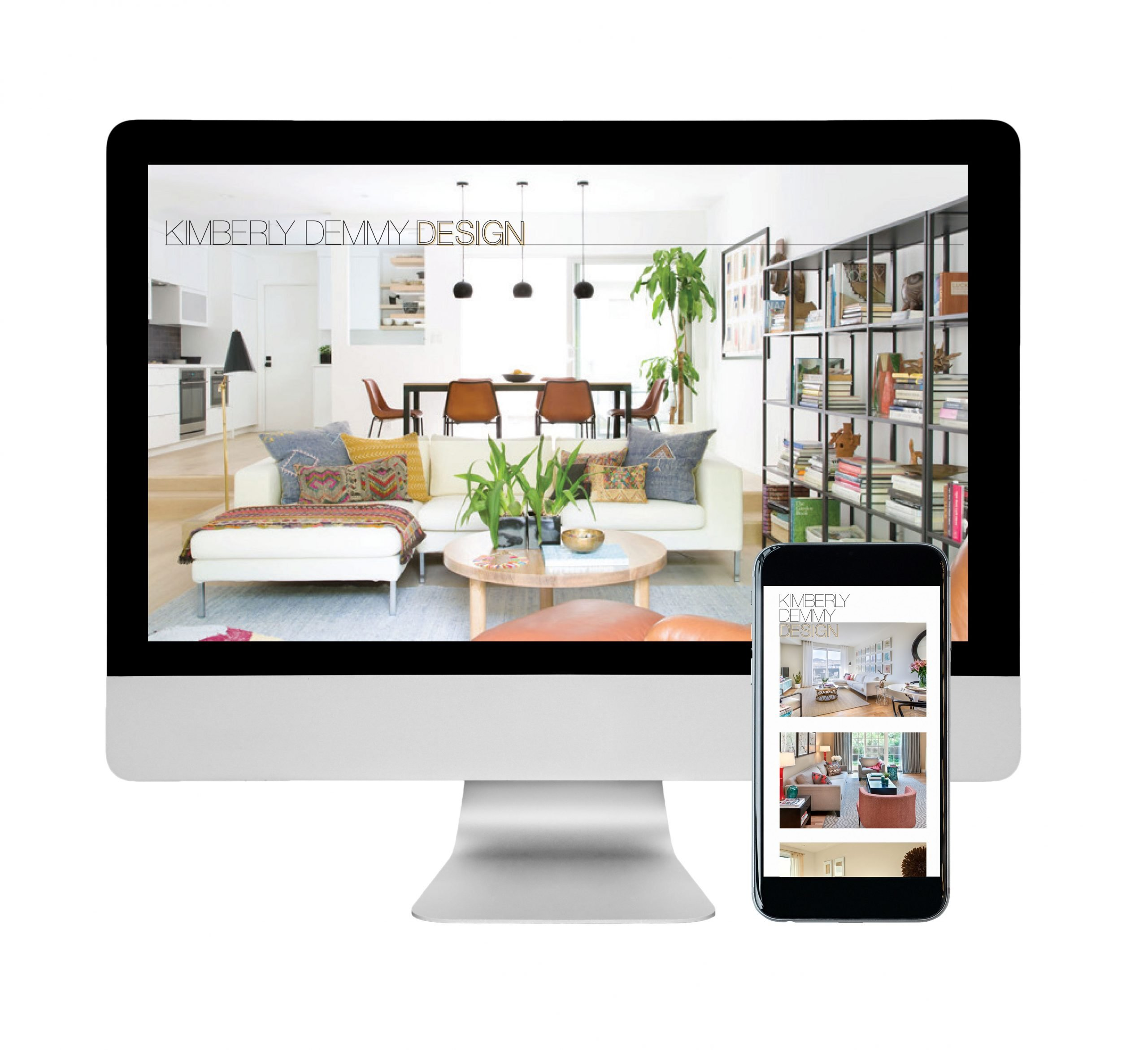 Kimberly Demmy Design website design