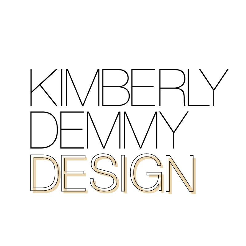 Kimberly Demmy Design logo design