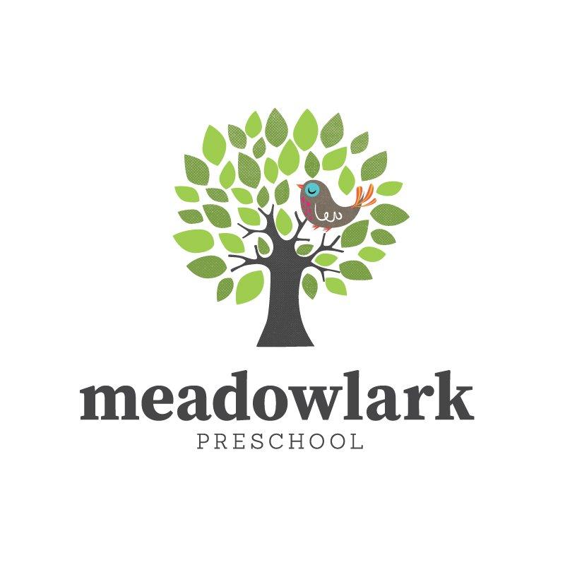 Meadowlark Preschool brand design