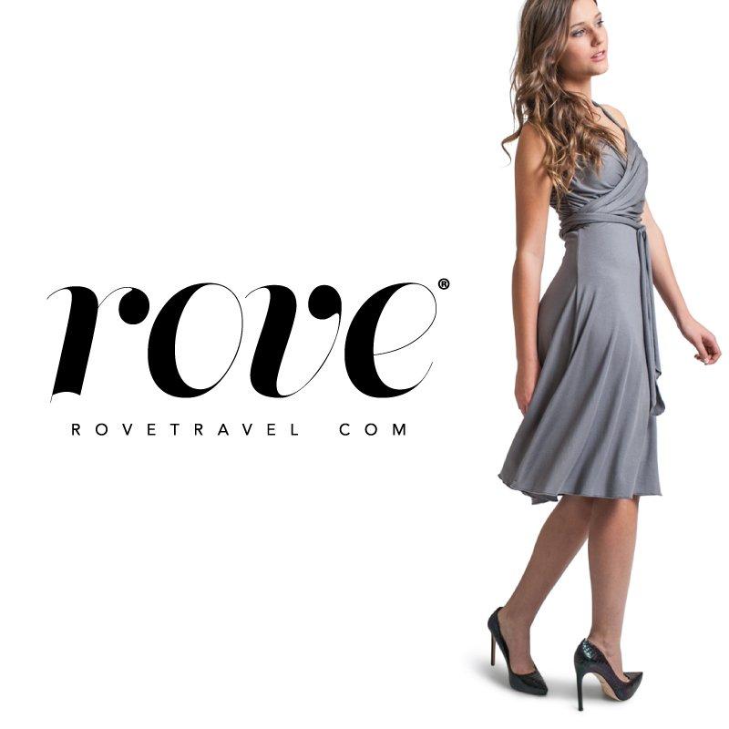 Rove travel apparel brand design