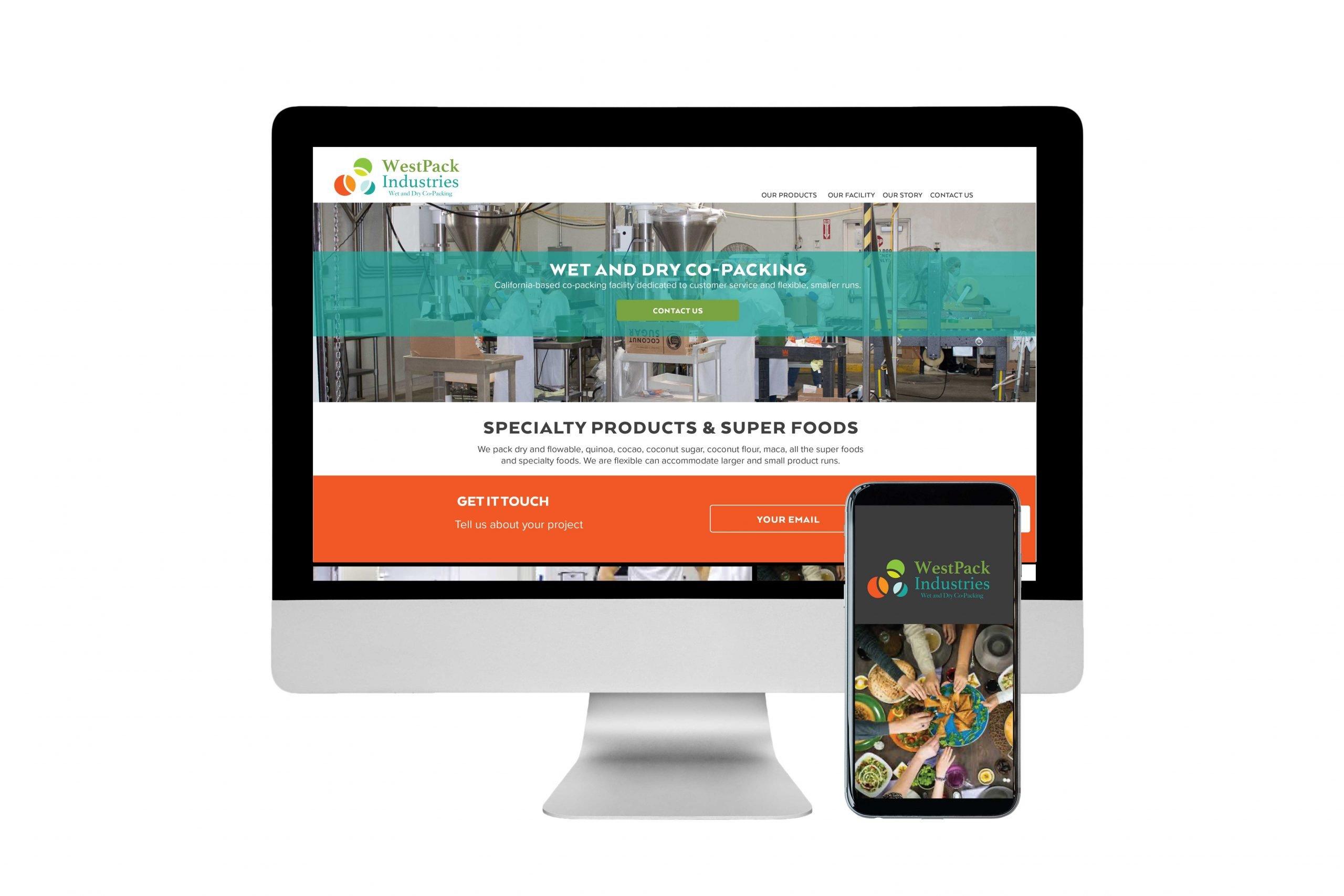 WestPack Industries website design