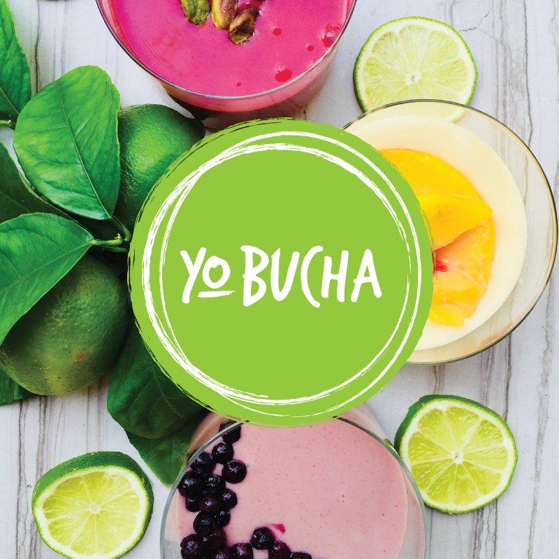 YoBucha brand design