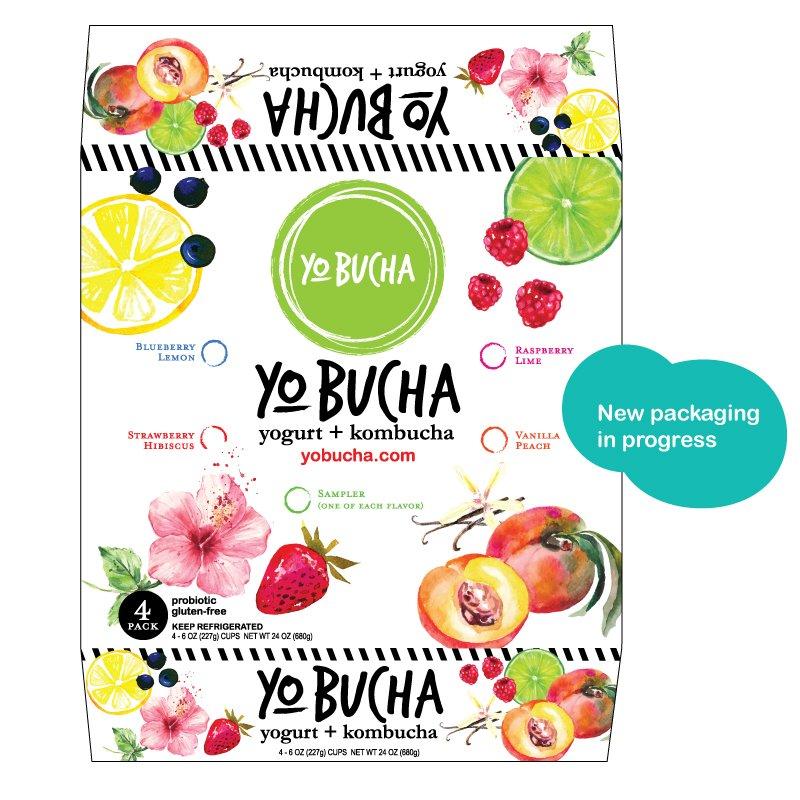 YoBucha package design