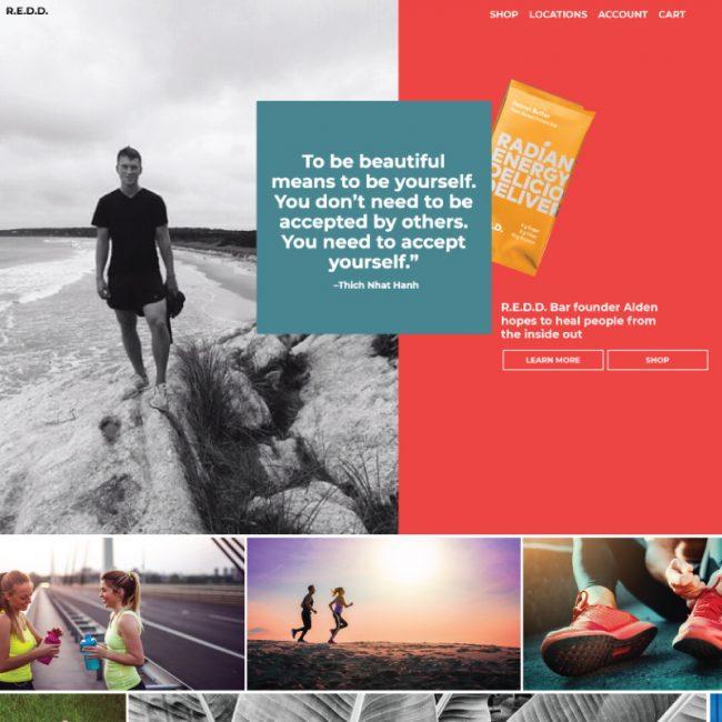 R.E.D.D. Bar Website design